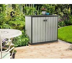 Armoire exterieur design Plan