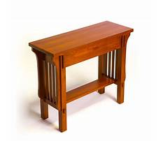 Arts and crafts sofa table plans Plan