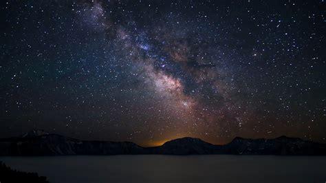 Asus Wallpaper The Night Sky Milky Way Galaxy