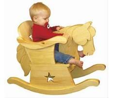 Baby rocking horse with seat Plan