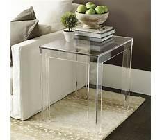 Ballard design acrylic coffee table Plan