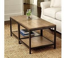 Ballard design coffee table Plan