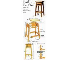 Bar chair woodworking plans.aspx Plan