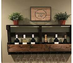 Bar supplies wine glass rack Plan
