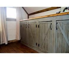 Barn door cabinet kitchen Plan