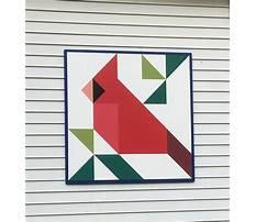 Barn quilt construction Plan