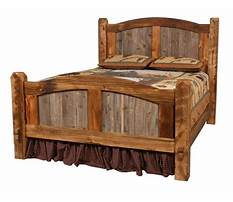 Barnwood bed frame plans Plan