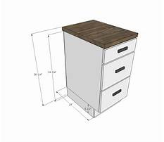 Base cabinets depth Plan