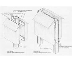 Bat conservation international bat house plans.aspx Plan