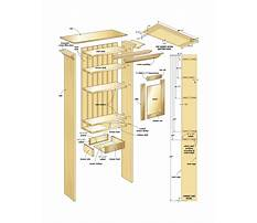 Bathroom cabinets plans woodworking Plan