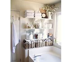 Bathroom storage ideas Plan