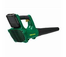 Battery powered blower reviews Plan
