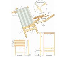 Beach chair wood plans Plan