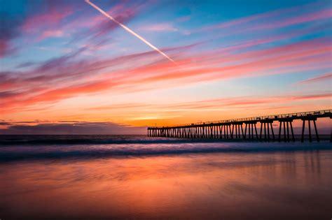 Beautiful Beach Sunset California