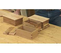 Beginner woodworking box projects Plan