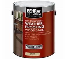 Behr weatherproofing wood stain.aspx Plan