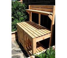 Benches for outdoor use Plan
