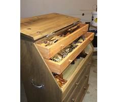 Best woodworking tool chest Plan