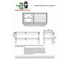 Big green egg table dimensions.aspx Plan