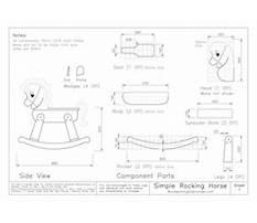 Big wooden rocking horse Plan