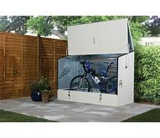 Bike storage shed metal.aspx Plan
