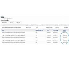 Bing sitemap xml error Plan
