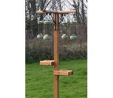 Bird feeder holders homemade Plan