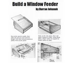 Bird feeder window.aspx Plan