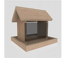 Bird house feeder plans.aspx Plan