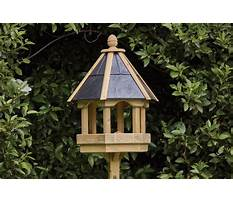 Bird table and chairs Plan