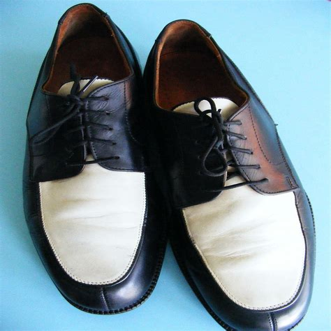Black White Shoes For Men