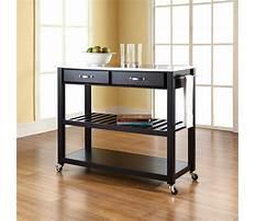 Black metal kitchen cart Plan