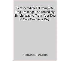 Blanche saunders dog training Plan