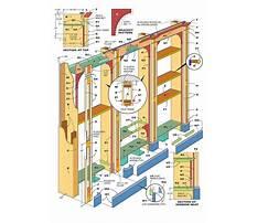Bookcase built ins Plan