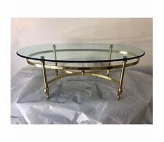 Brass coffee table makeover Plan