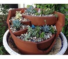 Broken pot planters Plan