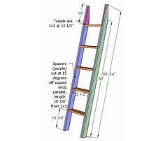 Build a bunk bed ladder.aspx Plan