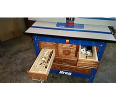 Build a desk with storage Plan