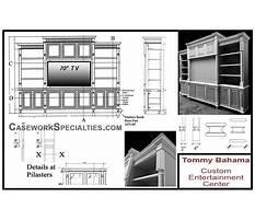 Build a home entertainment center Plan