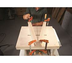 Build a router table fence.aspx Plan