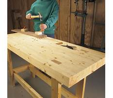 Build a simple woodworking bench Plan