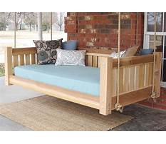 Build a swinging bed Plan