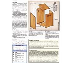 Build a wooden mailbox.aspx Plan
