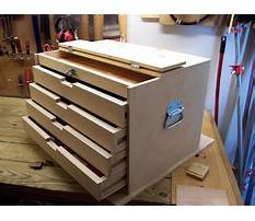 Build a wooden tool cabinet Plan