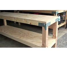 Build a workbench youtube Plan
