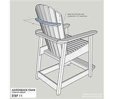 Build adirondack bar chair plans.aspx Plan