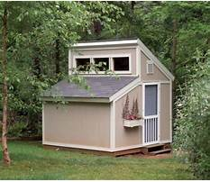 Build an outdoor shed.aspx Plan