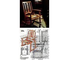 Build log chair Plan