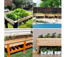 Build raised garden beds with sleepers Plan