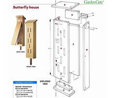 Build simple butterfly house design Plan